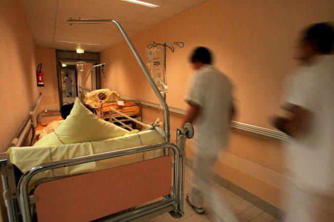 Sykehusseng.Foto