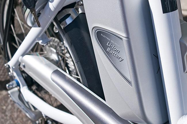 Elektrisk sykkel.Foto.