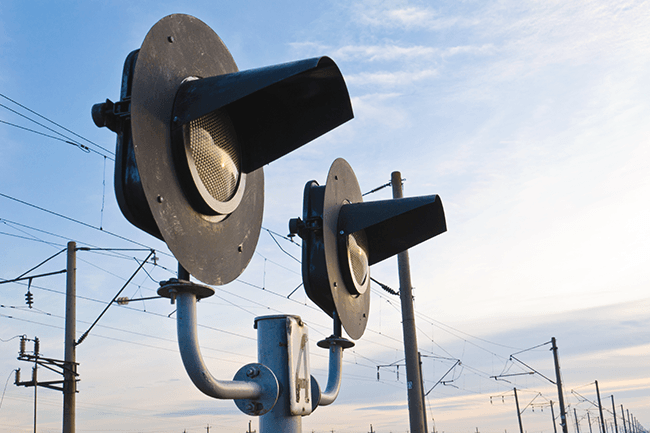 Signallys tog.Foto.