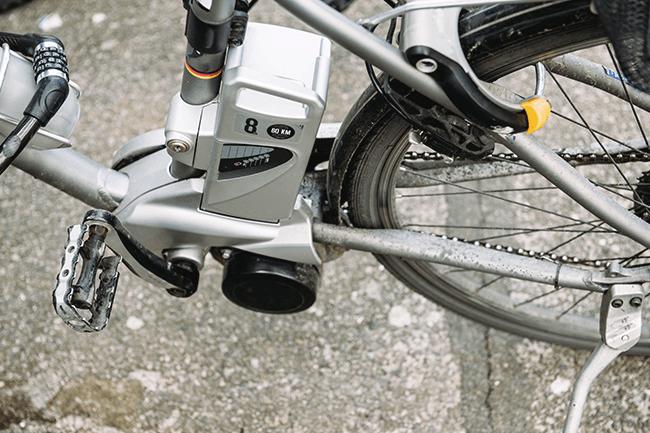 El-sykkel. Foto.