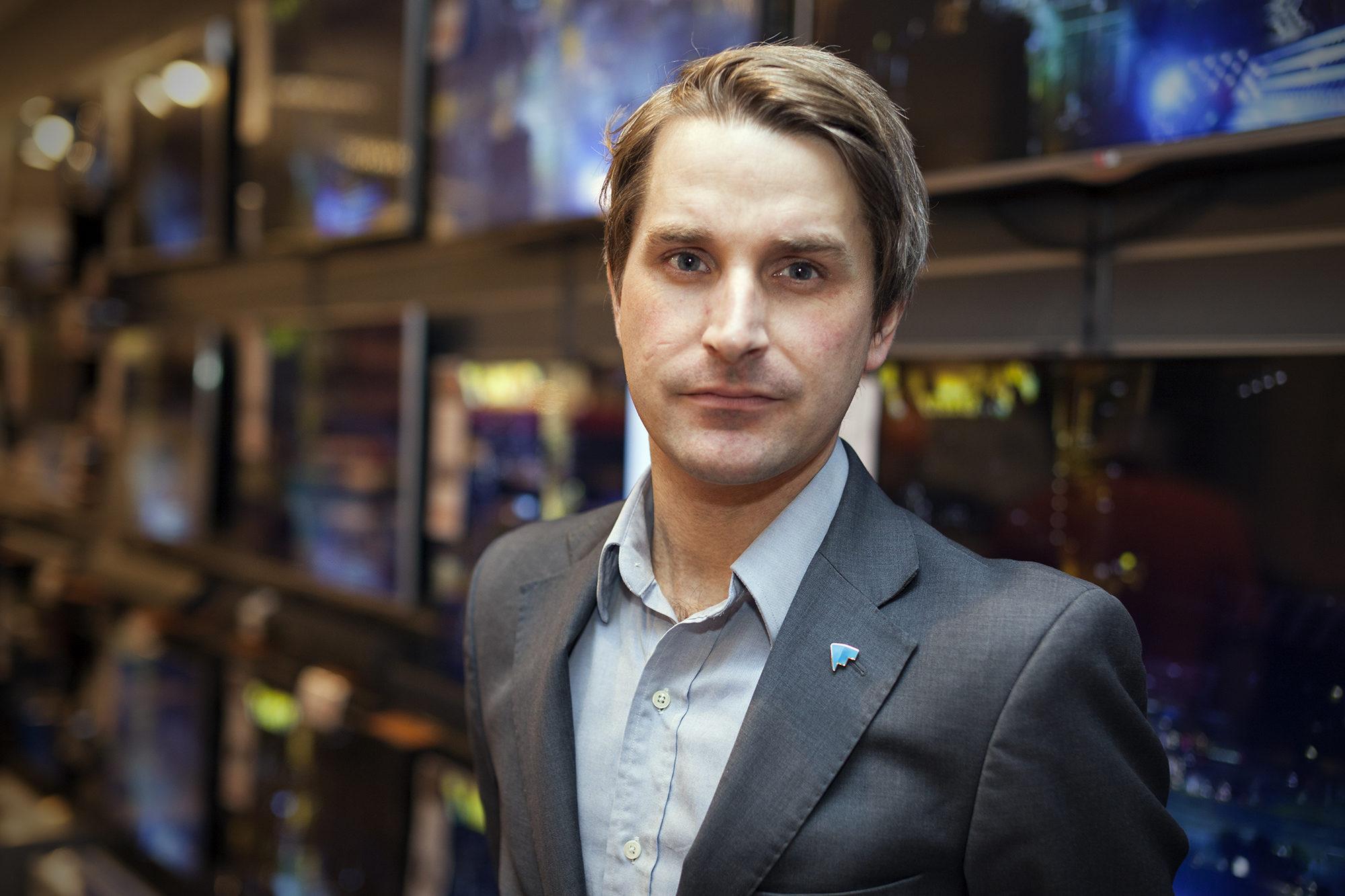 Finn Myrstad. Foto
