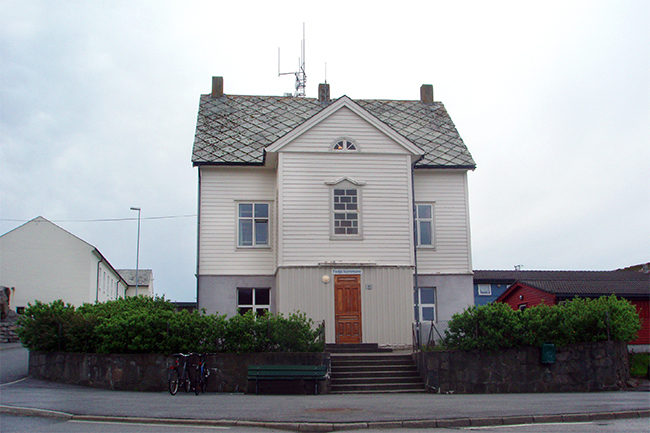 Fedje kommunehus.foto