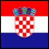 Croatia, flagg. Illustrasjon.