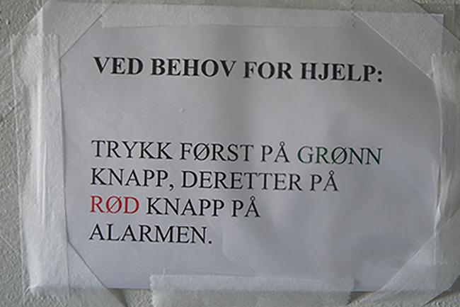 Syktvelkommen - kommunikasjon i norsk helsevesen