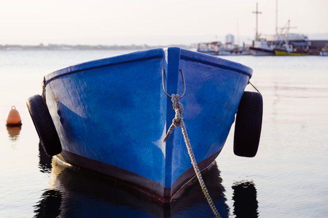 båt.Foto