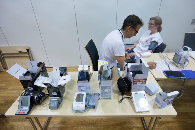 Testsituasjon ved test av blodtrykksmålere