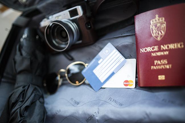 Reiseeffekter.Og.Pass.Foto