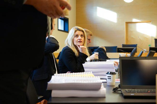 Inger Lise Blyverket i lagmannsretten.Foto