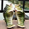 Sandaler som ser ut som fisk.Foto