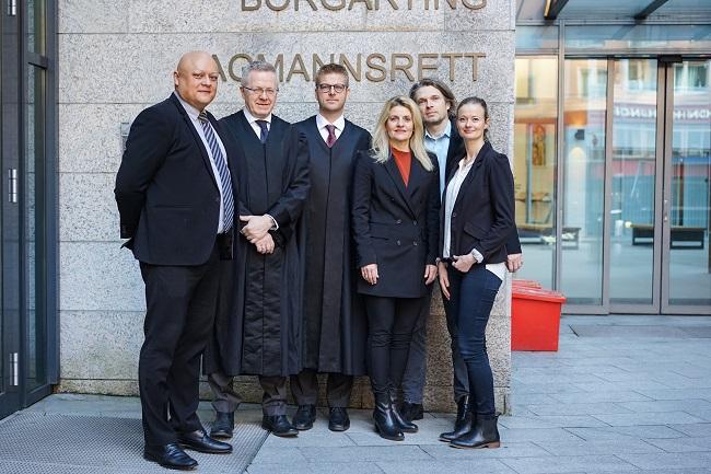 Representanter for Forbrukerrådet og advokatfirmaet Mageli ved Borgarting Lagmannsrett