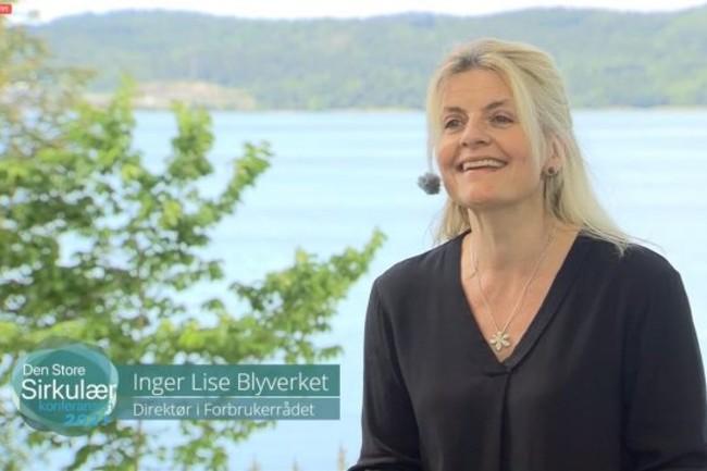 Sirkulærkonferansen Inger Lise Blyverket.Foto